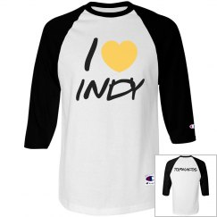 I LUV INDY TORN TEE