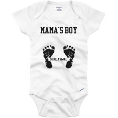 Mama's Boy Onesie