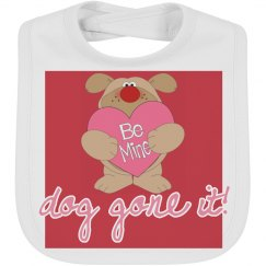 Be Mine Valentine Bib