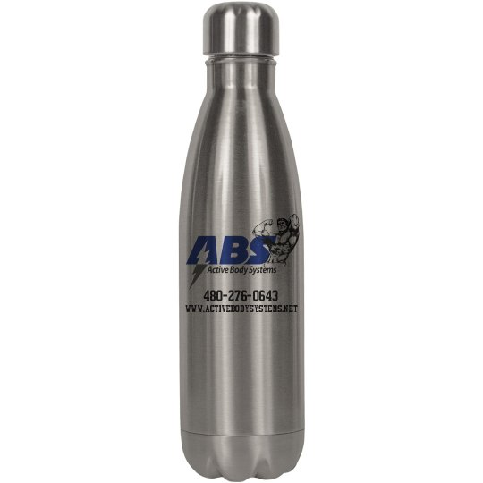 Active Body Systems Steel Water Bottle