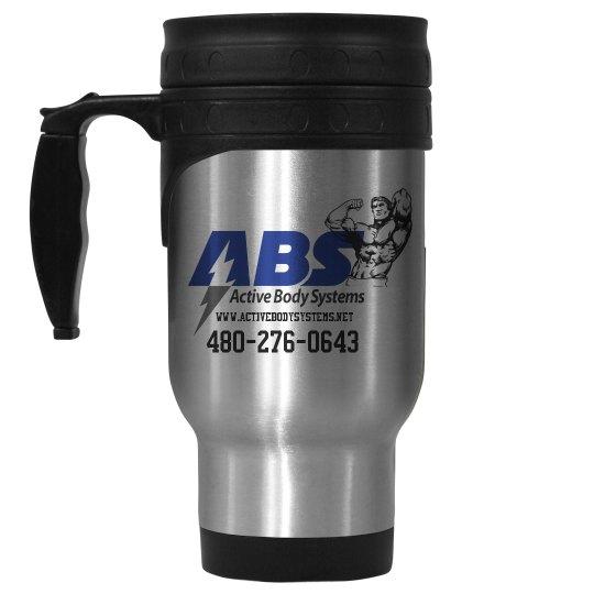 Active Body Systems Travel Coffee Mug