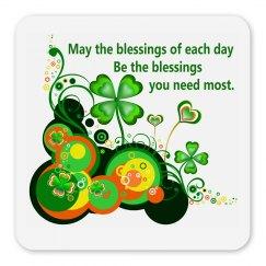 Irish Blessing, magnet