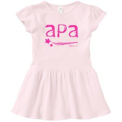 Toddler Dress APA