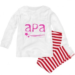 Toddler Pajama 1x1 Rib Set