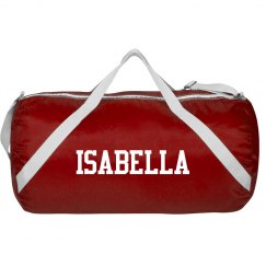 Isabella sports roll bag