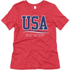 Make Your Own USA Tee