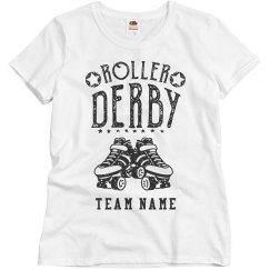 Custom Team Roller Derby Tee