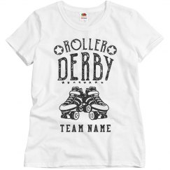 Custom Team Roller Derby Tee