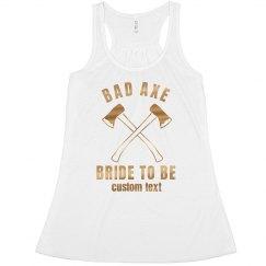 Bad Axe Bride to Be Bachelorette