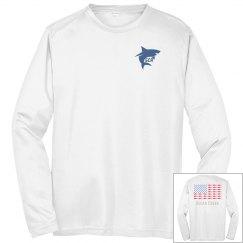 Shark American Flag