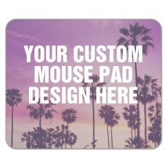 Custom Mouse Pad with Palm Trees
