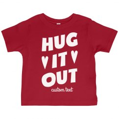Hut it Out Custom Valentine's Day Toddler