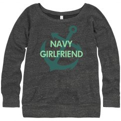 Navy Girlfriend Sweater