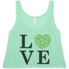 Love Dance Crop Top