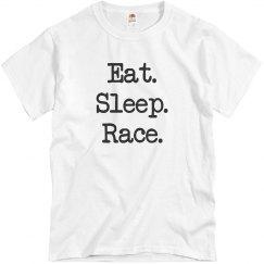 Eat Sleep Race Tee