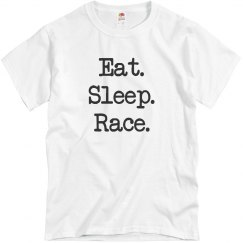 Eat Sleep Race Tee
