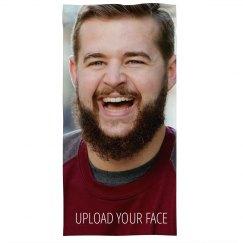Custom Upload Your Face Photo Mask