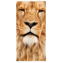 All Over Print Lion Face Mask