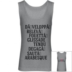Ballet Terms Tank-Youth