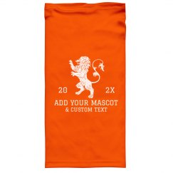 Add Your Mascot Custom School Gaiter