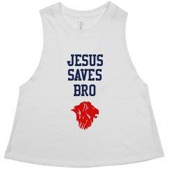 JESUS SAVES BRO GAITER