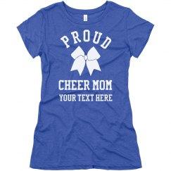Proud Cheer Mom Fan
