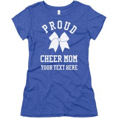 Proud Cheer Mom Fan