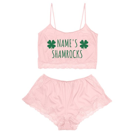Add A Name Irish Shamrocks