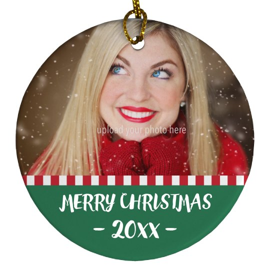Add A Photo To An Ornament!