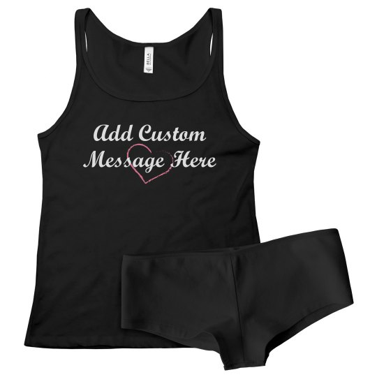 Add Custom Message To Underwear