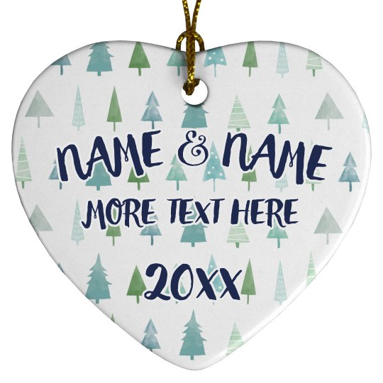 Add Custom Names To Holiday Decor