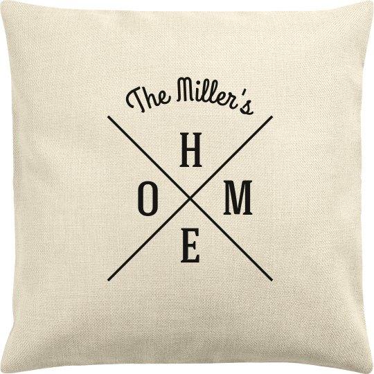Add Name Custom Pillow
