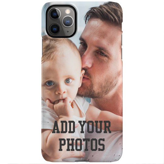 Add Your Custom Text & Photos iPhone 11 Pro Max