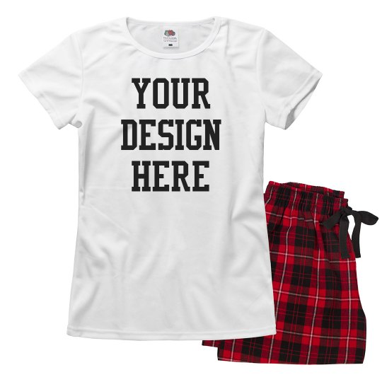 Add Your Design Custom Pajamas