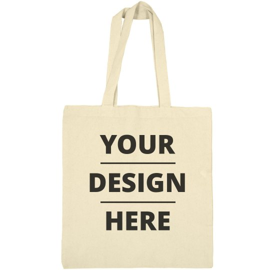 Add Your Design Custom Tote Bag