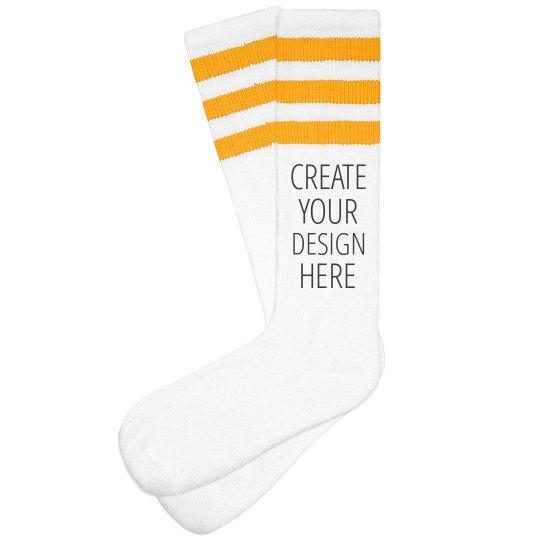 Add Your Design Turkey Trot Socks