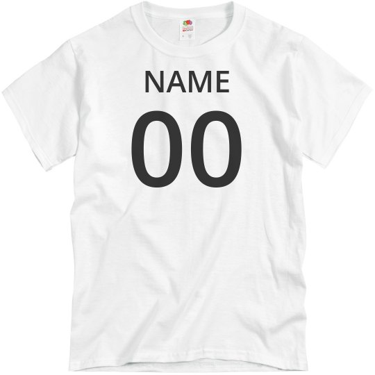Add Your Last Name And Number