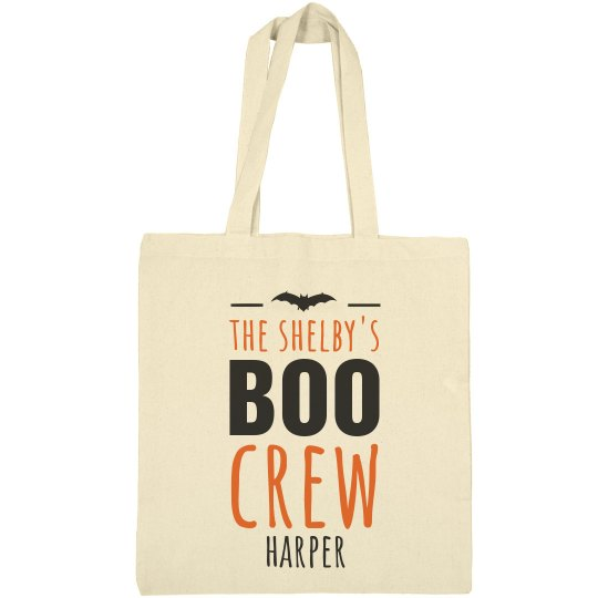 Add Your Name Boo Crew Bag