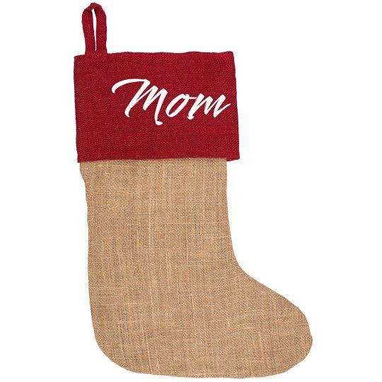 Add Your Name Christmas Stocking