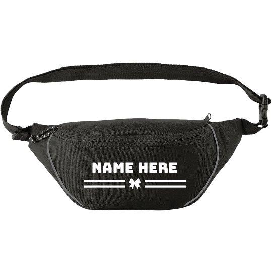 Add Your Name Custom Bow Waist Pack