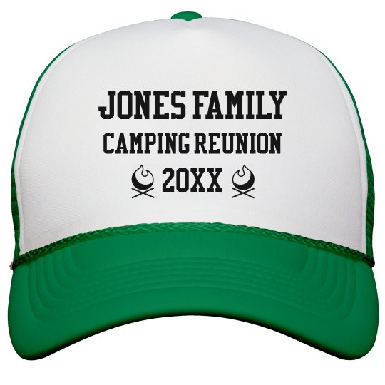 Add Your Name Reunion Hat