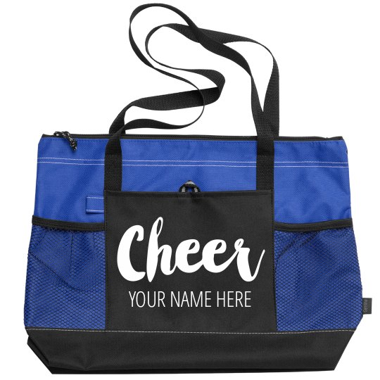 Add Your Name To A Custom Cheer Bag