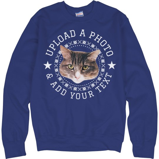 Add Your Pet Photo Ugly Sweater