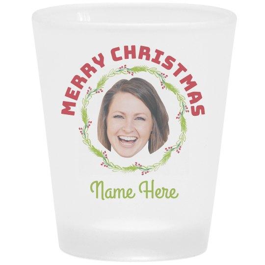 Add Your Photo Custom Name Shot Glass