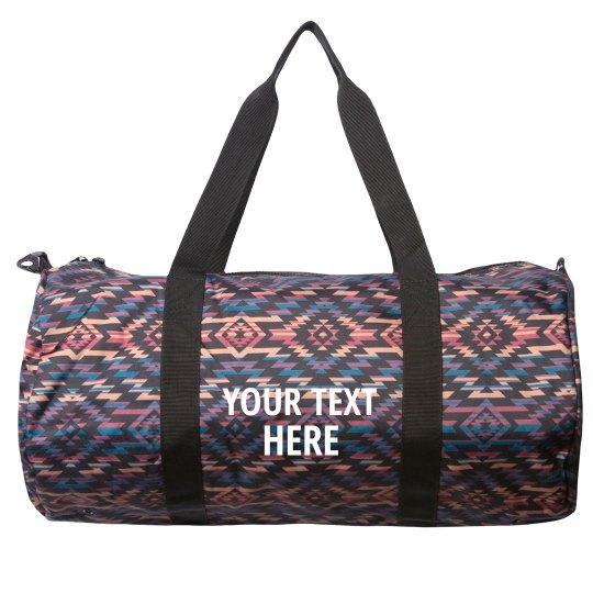 Add Your Text Custom Bag