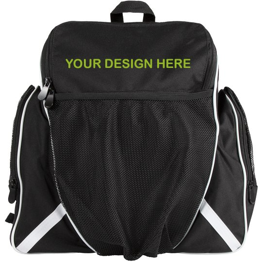 Add Your Text Custom Ball Bag