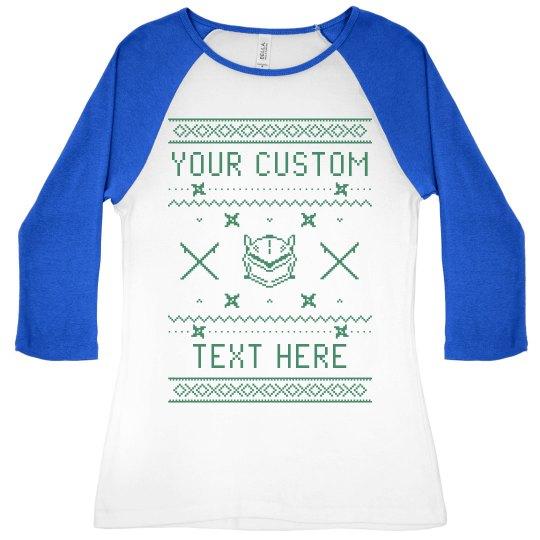 Add Your Text Custom Genji Tee