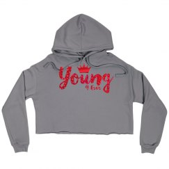 Y4E Crop Hoodies