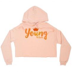 Y4E Crop Hoodies