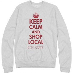 KEEP CALM, SHOP LOCAL